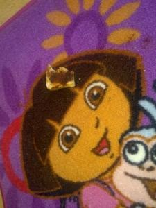 Toast on Dora