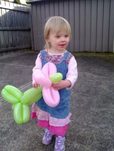 Ellie's balloon flower